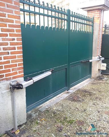 Installations ventes d pannages r parations for Portail volet roulant garage